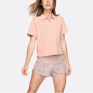Outdoor Voices OV Polo Blush Pink Coral Large